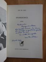 Ion Th. Ilea - Eflorescenta (cu autograful autorului)