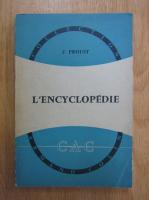 Anticariat: J. Proust - L'encyclopedie