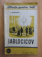 Anticariat: L. Rahmanov - Iablocicov