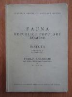 S. Panin - Fauna republicii populare romane (volumul 10, fascicula 2)