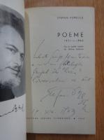 Anticariat: Stefan Popescu - Poeme (cu autograful autorului)