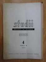 Anticariat: Studii. Revista de istorie. Extras, tomul 18, nr. 4, 1965