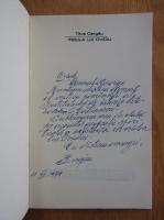 Titus Cergau - Insula lui Ovidiu (cu autograful autografului)