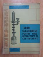 Anticariat: Tuburi electronice pentru unde decimetrice si centimetrice