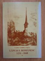 Anticariat: Vasile Viorel Pasca - Lapusul romanesc, 1231-1848 (volumul 1)