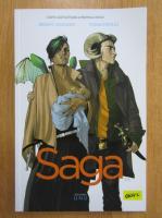 Anticariat: Brian K. Vaughan - Saga (volumul 1)