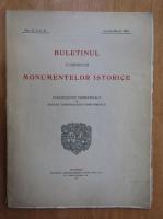 Anticariat: Buletinul Comisiunii Monumentelor Istorice, anul VI, fasc. 21, ianuarie-martie 1913