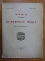 Anticariat: Buletinul Comisiunii Monumentelor Istorice, anul VI, fasc. 22, aprilie-iunie 1913