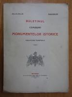 Anticariat: Buletinul Comisiunii Monumentelor Istorice, anul VII, fasc. 26, aprilie-iunie 1914