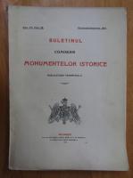 Anticariat: Buletinul Comisiunii Monumentelor Istorice, anul VII, fasc. 28, octombrie-decembrie 1914