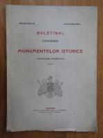 Anticariat: Buletinul Comisiunii Monumentelor Istorice, anul VIII, fasc. 30, aprilie-iunie 1915