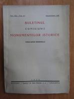Anticariat: Buletinul Comisiunii Monumentelor Istorice, anul XIX, fasc. 47, ianuarie-martie 1926