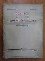 Anticariat: Buletinul Comisiunii Monumentelor Istorice, anul XIX, fasc. 48, aprilie-iunie 1926