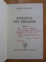 Eugen Frunza - Infinitul din preajma (cu autograful autorului)