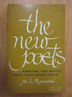 Anticariat: M. L. Rosenthal - The New Poets