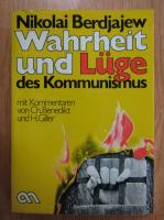 Anticariat: Nikolai Berdjajew - Wahrheit und Luge des Kommunismus