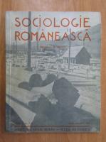 Anticariat: Revista Sociologie Romaneasca, anul II, nr. 7-8, iulie-august 1937