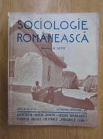 Anticariat: Revista Sociologie Romaneasca, anul III, nr. 10-12, octombrie-decembrie 1938