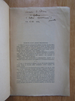Anticariat: Al. Rosetti - Raspuns d-lui Alexe Procopovici (cu autograful autorului)