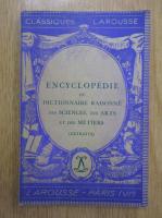 Anticariat: Encyclopedie ou dictionnaire raisonne des sciences, des arts et des metiers