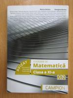 Anticariat: Marius Burtea - Culegere de matematica. Clasa a XI-a. M2