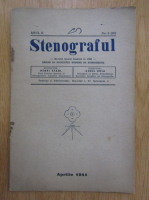 Anticariat: Revista Stenograful, anul II, nr. 8, 1941