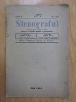 Anticariat: Revista Stenograful, anul II, nr. 9, 1941