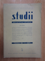 Anticariat: Revista Studii, tomul 24, nr. 5, 1971