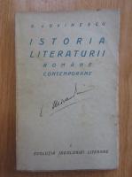 Anticariat: E. Lovinescu - Istoria literaturii romane contemporane (volumul 1)