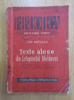 Anticariat: Ion Neculce - Texte alese din Letopisetul Moldovei
