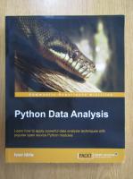 Anticariat: Ivan Idris - Python Data Analysis