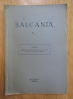 Anticariat: N. Beldiceanu - Balcania