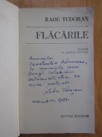 Anticariat: Radu Tudoran - Flacarile (cu autograful autorului)