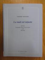 Anticariat: Thierry Renard - La nuit est injuste