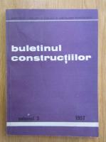 Buletinul constructiilor, volumul 3, 1997