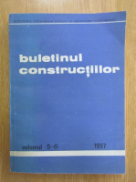 Buletinul constructiilor, volumul 5-6, 1997
