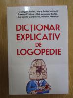 Georgeta Burlea - Dictionar explicativ de logopedie