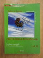 Iuliu A. Zanne - Proverbele romanilor (volumul 2)