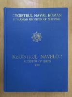 Registrul navelor. Register of Ships