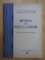 Anticariat: Revista de fizica si chimie, anul XIV, nr. 10, octombrie 1977