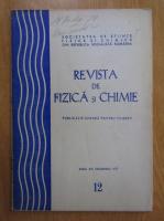 Anticariat: Revista de fizica si chimie, anul XIV, nr. 12, decembrie 1977