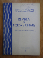 Anticariat: Revista de fizica si chimie, anul XIV, nr. 8, august 1977