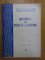 Anticariat: Revista de fizica si chimie, anul XVIII, nr. 8, august 1981