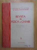 Anticariat: Revista de fizica si chimie, anul XX, nr. 5, mai 1984