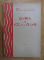 Anticariat: Revista de fizica si chimie, anul XXI, nr. 4, aprilie 1984