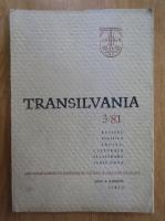Anticariat: Revista Transilvania, anul X, nr. 3, 1981