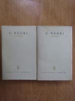 Anticariat: C. Negri - Scrieri (2 volume)