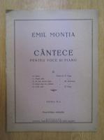 Emil Monita - Cantece pentru voce si piano (volumul 3)