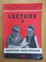 Anticariat: R. Leduc - Lecture 3. Comprendre. Juger. Apprecier