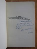 V. Firoiu - Un roman si harul sau, Ionel Perlea (cu autograful autorului)